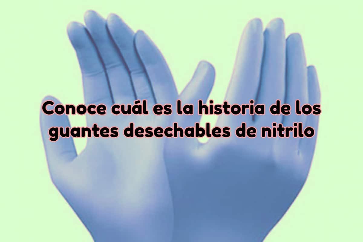 Guantes de nitrilo desechables