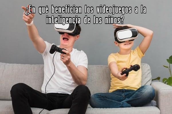 beneficios videojuegos inteligencia niños